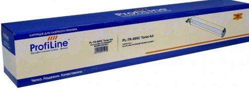 Тонер ProfiLine PL_TK-895C_C_WC для Kyocera FS-C8020/FS-C8025/FS-C8520/FS-C8525/FS-C8020MFP/FS-C8025MFP с бункером отработанного тонера cyan 6000 копи