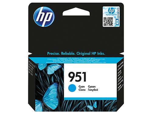Картридж HP CN050AE №951 для HP Officejet Pro 8610/8620 e-All-in-One (700стр.) голубой