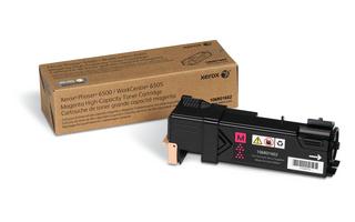 Принт-картридж Xerox 106R01602 для Phaser 6500/WC 6505 пурпурный 2 500 стр принт картридж xerox 106r01604 для phaser 6500 wc 6505 черный 3 000 стр
