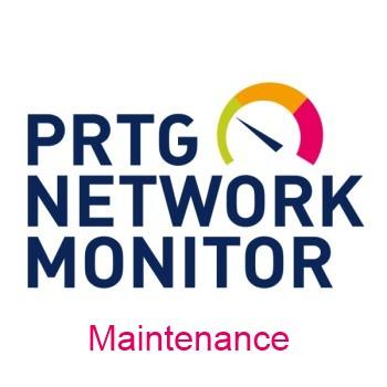 Paessler PRTG Site - 36 maintenance months