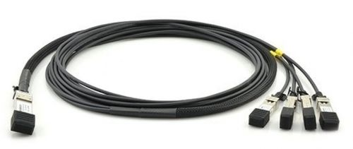 Кабель Huawei QSFP-4SFP10G-CU1M 02310MUK DAC QSFP+/4SFP+ 40GE 1M