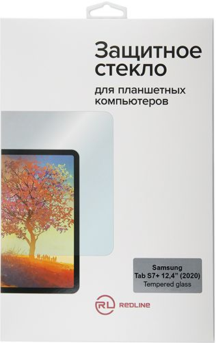 "Фото - Защитное стекло Red Line УТ000021602 для Samsung Tab S7+ 12,4"" (2020) tempered glass защитное стекло для экрана samsung araree sub core premium tempered glass samsung galaxy tab s7 gp ttt870kdatr"