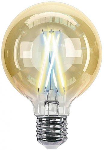 Лампа HIPER Smart LED Filament bulb IoT G80 Vintage HI-G80FIV Wi-Fi/Е27/Шар/7Вт/2700К-6500К/600lm/Тонировка