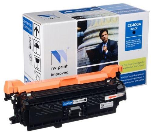 Фото - Картридж NVP NV-CE400ABk Black для CLJ Color M551 (5000k) картридж hp ce400x 507x для clj color m551 series black черный
