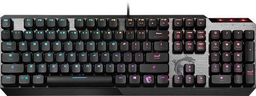 Фото - Клавиатура MSI VIGOR GK50 LOW PROFILE S11-04RU225-GA7 механическая черный USB Multimedia for gamer LED (подставка для запястий) клавиатура msi gk50 elite ru usb черный [s11 04ru226 cla]