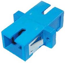 Адаптер проходной AESP KSC2-S SC-SC, одномодовая SM, simplex, центратор керамический