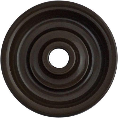 Накладка Bironi B3-062-22 (центральная плата) для выключателей, коричневая