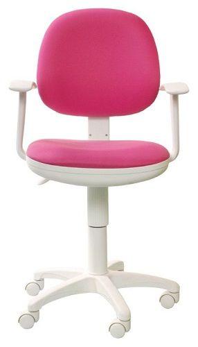 Кресло Бюрократ CH-W356AXSN розовое, пластик белый