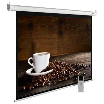 Экран Cactus CS-PSME-300X300-WT 1:1 настенно-потолочный рулонный белый (моторизованный)