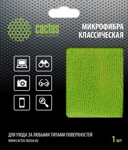 Салфетка из микрофибры Cactus CS-MF02 универсальная 1шт 25х25см