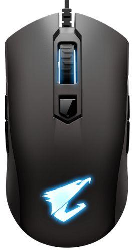 Мышь GIGABYTE AORUS M4 Black, USB