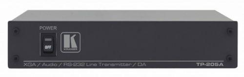 Передатчик Kramer TP-205A 71-70596090 по витой паре, распределитель 1:5 сигналов VGA, аудио и RS-232