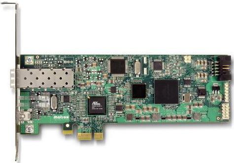 Плата Matrox XTO2A-FESLPAF PCI Express x1 fiber-optic interface card