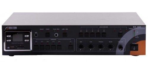 Система Roxton SX-480 оповещения автоматическая - USB - проигрыватель - тюнер - усилитель