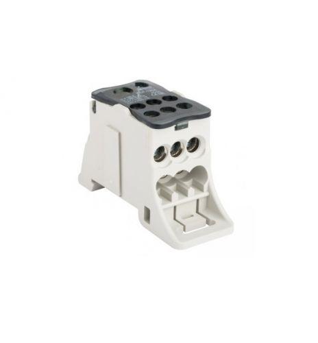 Блок распределительный EKF plc-kbr125 КРОСС крепеж на панель и DIN КБР-125А
