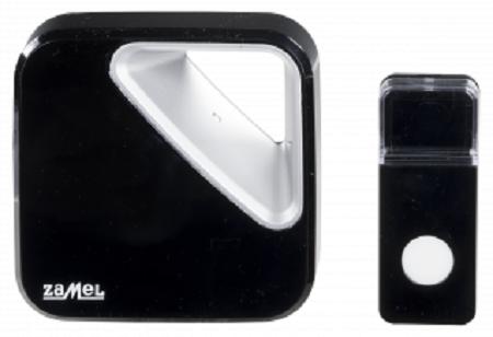 Звонок Zamel ST-390 ZUMBA беспроводной радиус действия 150м (питание от батареек)