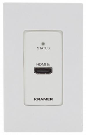 Передатчик Kramer WP-789T/US-D(W/B) 50-805180195 HDMI, RS-232, ИК по витой паре HDBaseT, поддержка 4К60 4:2:0, PoE, исполнение в виде настенной панели
