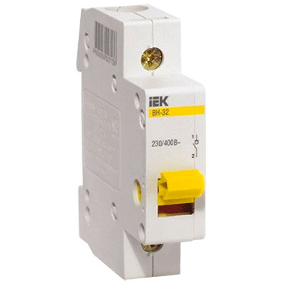IEK - Выключатель нагрузки IEK MNV10-1-025