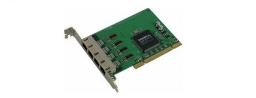 Плата MOXA CP-104JU 4-port RS-232, 921.6 Kbps, RG45-8pin