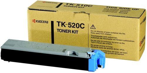 Фото - Тонер-картридж Kyocera TK-520C 1T02HJCEU0 для FS-C5015N Cyan 4000 стр картридж crown cmk tk 540c cyan для kyocera fs c5100 4000к