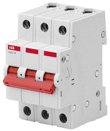 Выключатель нагрузки ABB 2CDD643051R0063 3P 63A BMD51363