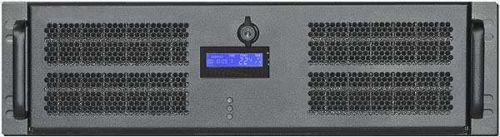 Корпус серверный 3U Procase GE301L-B-0 черный, без блока питания