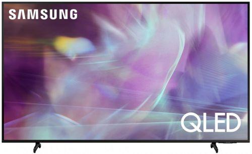 Фото - Телевизор Samsung QE85Q60AAUX черный, 4K Ultra HD, QLED, Wi-Fi qled телевизор samsung qe55q60aau