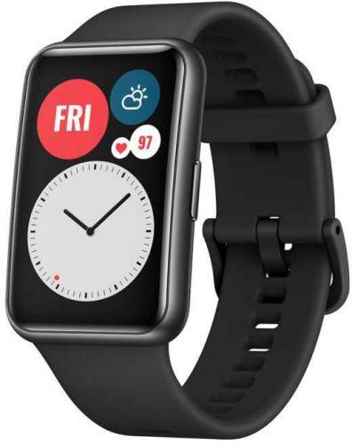 Часы Huawei WATCH Fit TIA-B09 55025871 Graphite Black смарт часы huawei watch fit tia b09 1 64 черный черный [55025871]