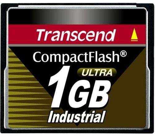 Карта памяти 1GB Transcend TS1GCF100I Compact Flash Transcend Industrial High Speed (100X)