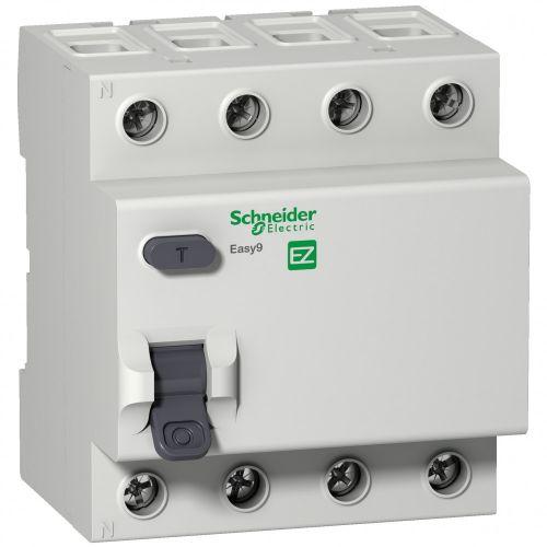 УЗО Schneider Electric EZ9R64440 EASY 9 УЗО 4P 40А 300мА AC