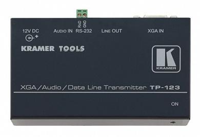Передатчик Kramer TP-123 90-70116090 комьют. графич.видео, стерео аудио и RS-232 сигналов по витой паре, 0.3кг