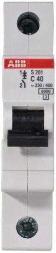 Автоматический выключатель ABB 2CDS251001R0404 S201 1P 40А (С) 6kA
