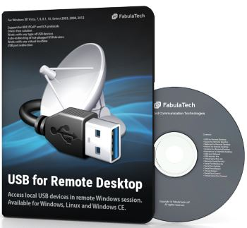 FabulaTech Usb for Remote Desktop 5 User sessions 51 and more Licenses