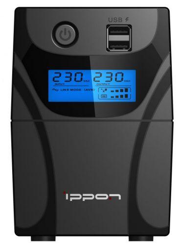 Источник бесперебойного питания Ippon Back Power Pro II Euro 650 1005511 360Вт, 650ВА, черный