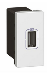 Розетка Mosaic Legrand 077591 источник питания USB, 1М 5В 750мА