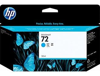 Картридж HP C9371A №72 голубой , ёмкость 130 мл, для плоттера Т1100/610