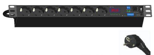 Hyperline - Блок розеток Hyperline SHT-CT20-7SH-3PVY