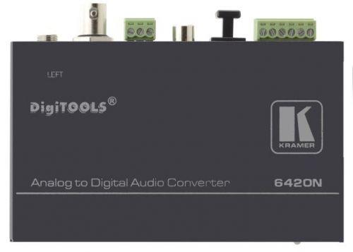 Преобразователь Kramer 6420N 90-70520090 балансного стереофонического аудиосигнала в цифровой