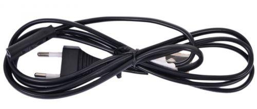 Кабель питания Cablexpert PC-184-VDE-0.5M для ноутбуков, аудио/видео техникиt, 0,5 м, CEE 7/16 - C7, VDE, , 2-pin, 2.5А, черный, пакет
