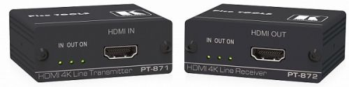 Комплект Kramer PT-871/2-KIT 50-80389490 из передатчика и приемника HDMI по витой паре DGKat 2.0, поддержка 4К60 4:4:4