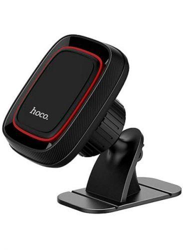 Держатель автомобильный Hoco CA24 6957531065593 торпедо, магнитный, черный