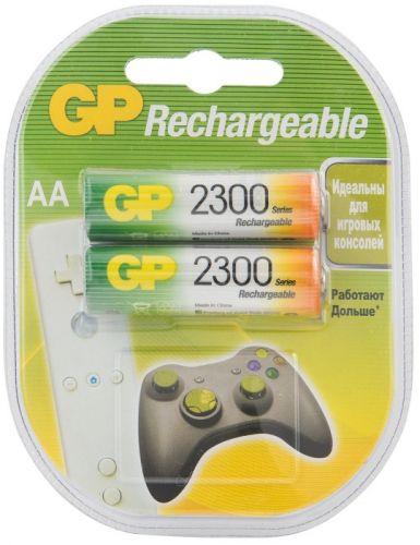 Аккумулятор GP 230AAHC 1.2V, 2300mAh, 2шт, size AA