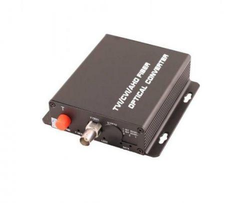 Передатчик OSNOVO TA-H/1F оптический, 1 канала видео HDCVI/HDTVI/AHD/CVBS по одномодовому оптоволокну до 20км. Максимальное разрешение 1080p. Рабочая