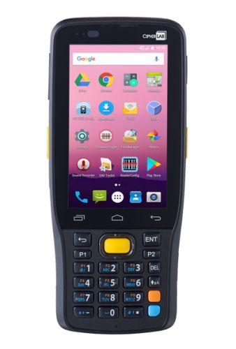 Терминал сбора данных CipherLab RK25 AK25SSWDFEUG1 2D имидж, 4000 mAh, 28 key, WiFi, LTE, BT, GPS, NFC, cam, USB, БП, Android 7, черный