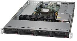 Фото - Корпус серверный 1U Supermicro CSE-815TQC-R504WB корпус supermicro cse 116ac2 r706wb 1u