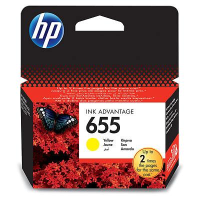 Фото - Картридж HP 655 CZ112AE для принтеров HP DJ IA 3525/5525/4515/4525, желтый, 600 стр картридж hp cz102ae 650 цветной dj ia 2615 200стр