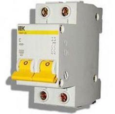 Автоматический выключатель IEK MVA20-2-013-C ВА47-29 2Р 13А 4,5кА х-ка С
