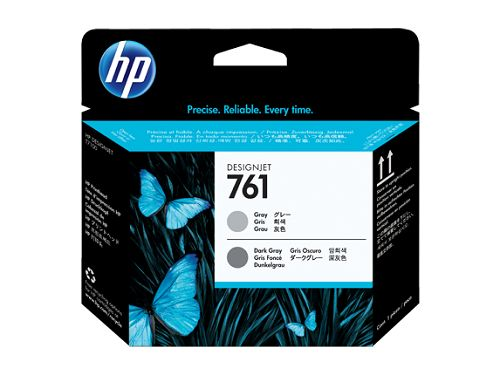 Картридж HP CH647A № 761 Печатающая головка для HP Designjet T7100 Printer series (серый/темно серый)