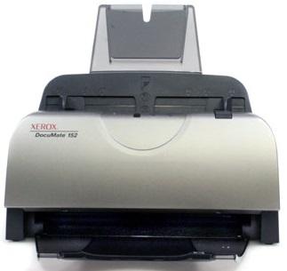 Сканер Xerox DocuMate 152iB A4, ADF, 25ppm, Duplex, 600 dpi, USB 2.0, Ethernet(opt), max 2500 pages per day