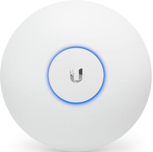 Фото - Точка доступа Ubiquiti UAP-AC-HD-5 802.11a/b/g/n/ac, комнатное исполнение, работает с контроллером UniFi, комплект из 5 точек точка доступа ubiquiti unifi ap ac long range uap ac lr 5 eu